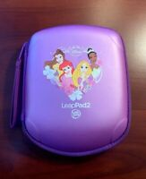 LeapFrog  Leap Pad 1, 2, or 3 Explorer Carrying Case - Purple Princess