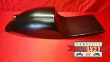 CAFE RACER SEAT NEW MOTO GUZZI STYLE WITH STOP/TAIL LIGHT IN BLACK