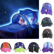 DreamTents Kids Pop Up Bed Tent Playhouse - Dream Tents Winter Wonderland AU