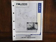 1987 Polaris Long Track Long Track Reverse Snowmobile Parts Manual