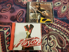 The Best of Poison + Bret Michaels - Rock My World CD Lot