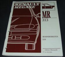 Werkstatthandbuch Karosserie Renault Megane Typ BA L64 Besonderheiten 1996