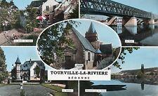 (76) TOURVILLE LA RIVIERE multivue ( Seine Maritime
