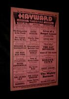 HAYWARD THEATRE 1935 OLAND CHARLIE CHAN Beery HEPBURN COOPER TONE & More L@@K