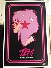 Jem and The Holograms poster print