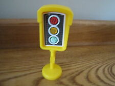 Fisher Price Little People City Village Town Main st traffic light signal stop