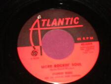 """Solomon Burke """"More Rockin' Soul/The Price"""" 45"""