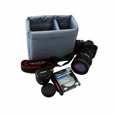 Insert Partition Padded Camera Bags Case For Nikon D3400 D7500