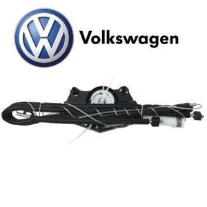 For VW Beetle Convert. Front Driver Left Window Regulator Kit Genuine 1Y0837461J
