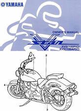 2002 YAMAHA XVS1100 V-STAR 1100 MOTORCYCLE OWNERS MANUAL-CLASSIC-CUSTOM-DragStar