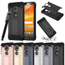 Heavy Duty Rugged Armor Hybrid ShockProof Case For Moto E5 / E5 Play / G6 Play