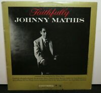 JOHNNY MATHIS FAITHFULLY (VG+) CL-1422 LP VINYL RECORD