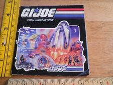 GI Joe 1987 pamphlet fold-out action figure catalog Chuckles Viper