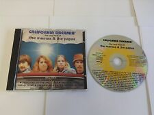 California Dreamin: The Very Best Of The Mamas & The Papas RARE COVER CD