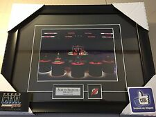 Martin Brodeur New Jersey Devils unsigned Hockey Frame Cadre Retirement Trophies