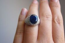 Unbranded Solitaire Sapphire Fine Rings