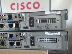 Cisco 2621XM-RPS Router DC 48MB F/128MB D WIC-1DSU-T1 12.4 IOS *1-YR Warranty!