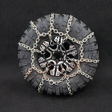 Xtra Speed 114mm Steel Snow Chain 1.9 Crawler Tire 1:10 RC Car #XS-59626