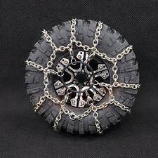 Xtra Speed 114mm Steel Snow Chain 1.9 Crawler Tire 1:10 RC Car #XS-59626