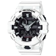 Casio G-Shock White Analogue/Digital Mens Watch GA700-7A GA-700-7ADR
