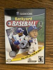 BACKYARD BASEBALL (Nintendo GameCube, 2003) ~  Case & Booklet Only ( No Game)OEM