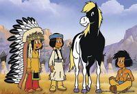 Ravensburger Puzzle Puzzles Kinderpuzzle Yakari der kleine Indianer 2 x 12 Teile