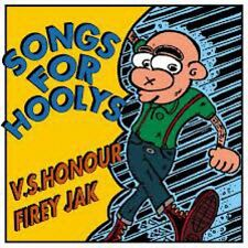 FIREY JAK / V.S. HONOUR – SONGS FOR HOOLYS CD oi! punk two tone cockney rejects