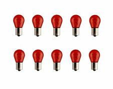 10x pr21w rouge 21 W 12 V baw15s Halogène Lampes Boîte 10 Pièce