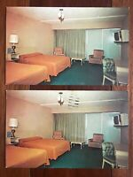 Vintage Postcards Arkansas Motor Queen Motel Hot Springs 1967 805 East Grand Ave