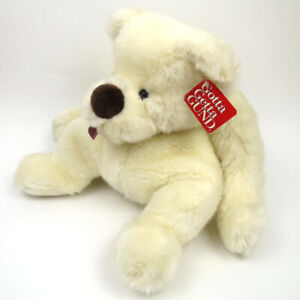"""Gund Vintage Clueless Floppy Teddy Bear Sticking Tongue Out Plush Toy 17"""" Tags"""
