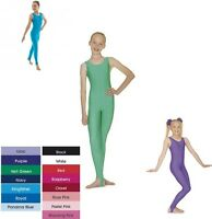 ROCH VALLEY GIRLS DANCE GYMNASTICS CATSUIT LEOTARD ALL IN ONE