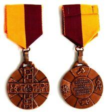 Medaglia Con Nastrino IBC Gran Croce Al Merito Del Lavoro Della International Bu