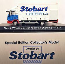 1:76 Scale Atlas Editions MAN TGL - Stobart Maintenance - Sammy Shammy - BNIB