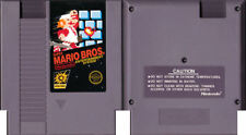 Original Super Mario Bros (5-Screw) - Nintendo NES - Tested - Cart Only - SMB01