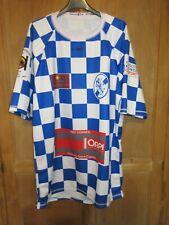 Maillot rugby T.A.C TOULOUSE damier bleu blanc NTK NTAMACK shirt 3XL XXXL