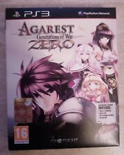 agarest generations of war zero collector's edition ps3