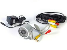 Wildlife camera kit with night vision, sound, power supply and 5m cable
