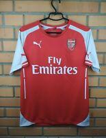 Arsenal Jersey 2014 2015 Home M Shirt Soccer Football Puma Trikot Maglia