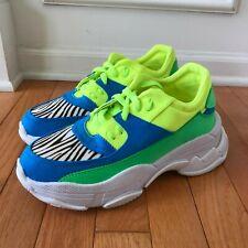 Jeffrey Campbell Womens Online Sneaker Neon Fashion Chunky Street Style Size 8