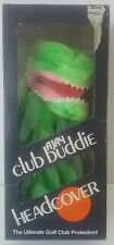 Ajay Humorous Funny Alligator Vintage 1970's Golf Club Buddie Head Cover MIB