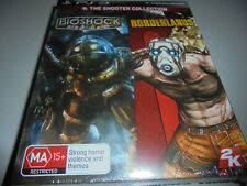 Bioshock and Borderland The Shooter collection PS3 NEW AND SEALED