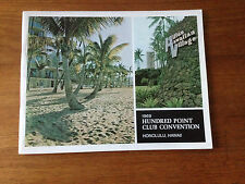 1969 NCR Hundred Point Convention Honolulu Hawaii Hilton National Cash Register