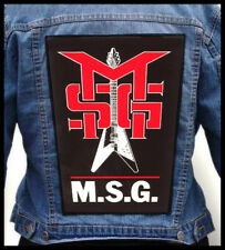 MICHAEL SCHENKER GROUP --- Giant Backpatch Back Patch