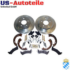 Complete Drilled & Slotted Brake Kit, Rear Jeep Grand Cherokee ZJ/ZG 1994/1998