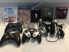 Xbox Playstation Nintendo Gamecube Wii U Games Controllers Headphones Multitap