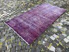 Bohemian rug, Area rug, Turkish rug, Vintage rug, Handmade rug | 3,7 x 6,9 ft