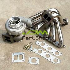 GT45 AR.70/1.32 Turbo+Exhaust Manifold For Toyota lexus SC300 GS300 3.0L 2JZGE