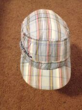 Billabong Cap Hat Multi Color plaid painters cap Very Nice Hat GXN