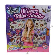 BRAND NEW BOXED KIDS GIRLS GRAFIX ULTIMATE TATTOO STUDIO 200+ ART SET GIFT TOY