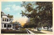 Live Oak Florida Residence Section Ohio Ave Antique Postcard K78791